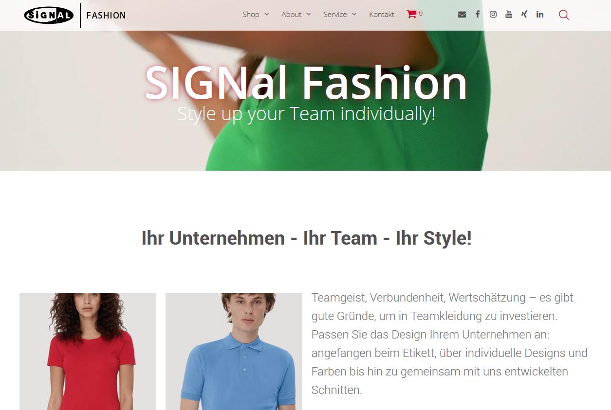 Corporate Fashion, Workwear & Co. – SIGNal Fashion Shop