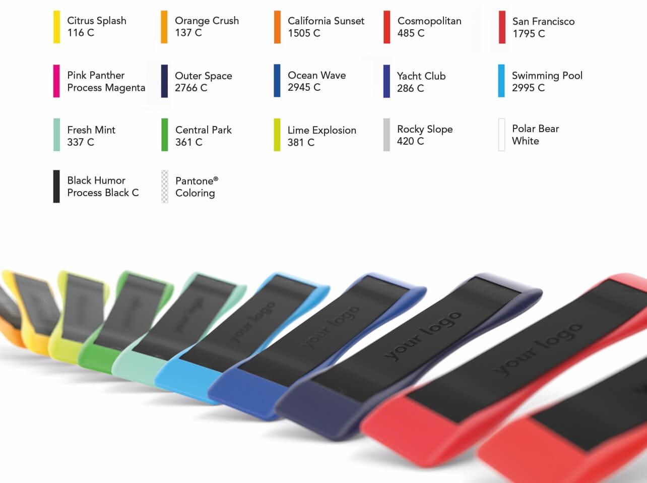 Backbone - verfügbare Farben