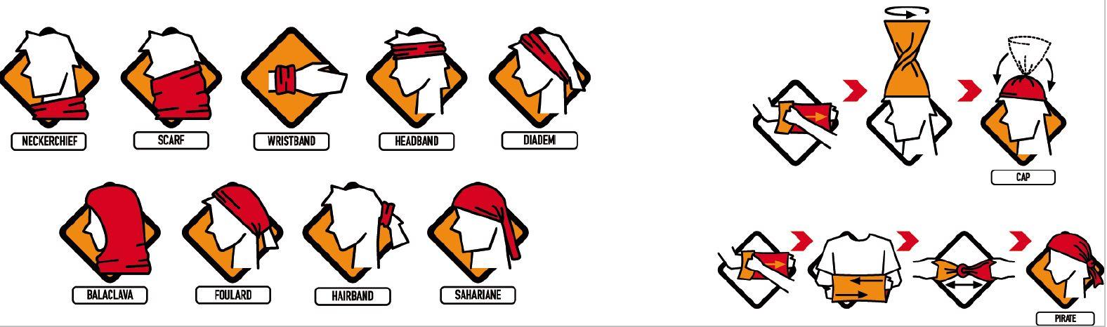 Buff Möglichkeiten Tragen Masken Einsatz