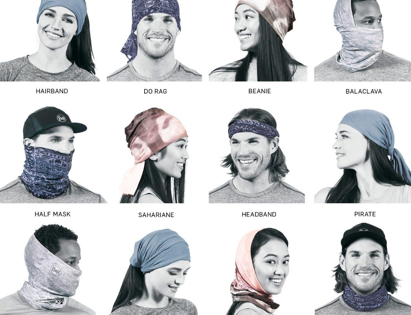 Schlauchschal BUFF - Multifunktionale Maske und Sport Accessoire
