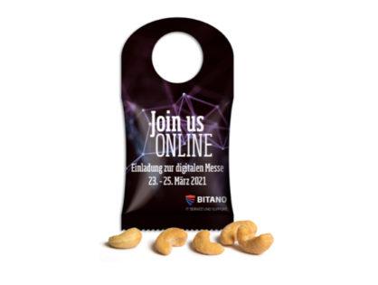 Seeberger Cashewkerne im Bottle-Bag