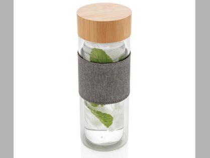 Impact doppelwandige Borosilikatglas-Flasche