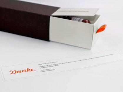 """Dankebox """"Winterlicher Fruchtaufstrich"""""""