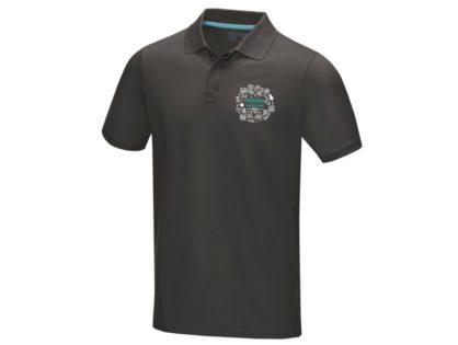Graphite Poloshirt aus GOTS-zertifiziertem Bio-Material für Damen & Herren
