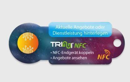 Triggi NFC Einkaufswagenauslöser