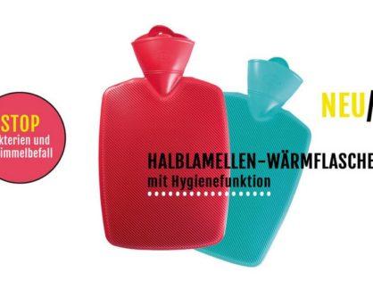 Wärmflaschen - Sanitized mit innovativer Hygienefunktion