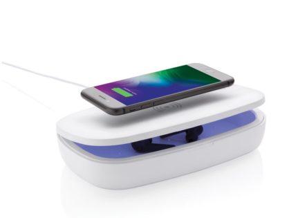 UV-C Sterilisations-Box mit 5W Wireless Charger