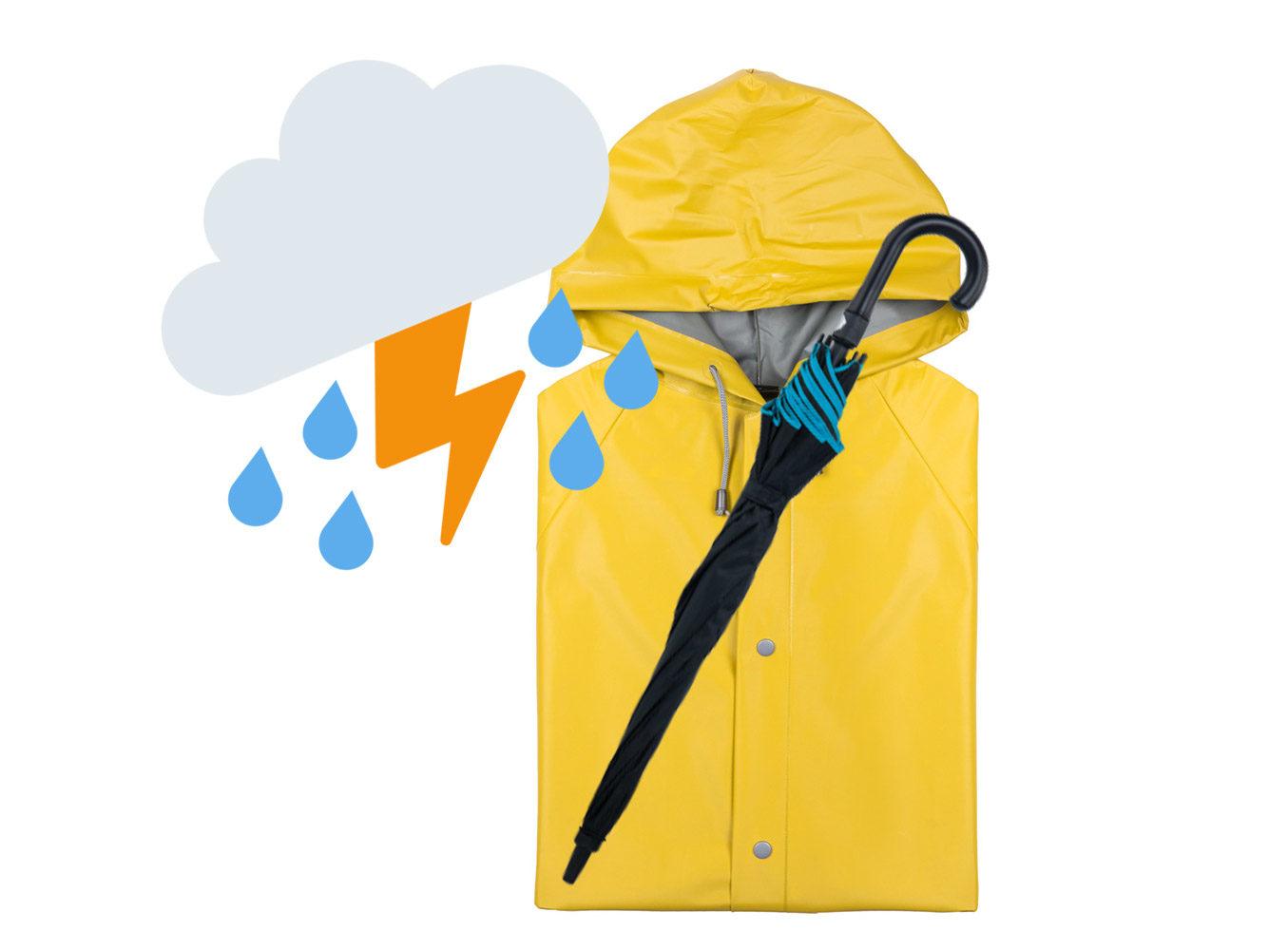 Regen im Herbst? Mit diesen Werbemitteln bleiben Sie trocken!